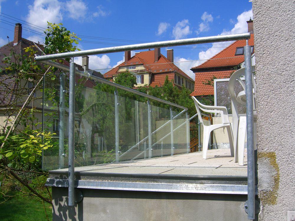 Glasgelander Sichtschutzwande Nurnberg Furth Glasbau Brehm