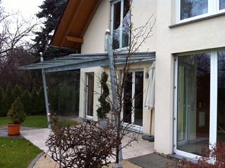 Terrassenüberdachungen Nürnberg/Fürth/Erlangen - Glasbau Brehm